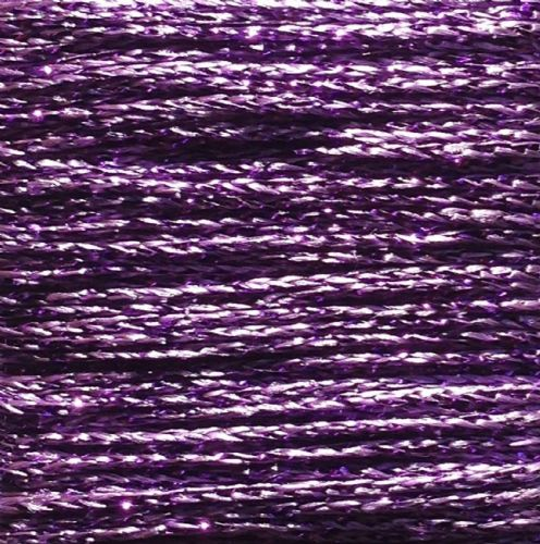 Gold Rush Metallic Glitter Thread 10m Purple